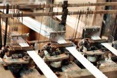 Macchina della tessitura immagini stock libere da diritti