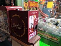 Macchina di cambiamento del coke Fotografia Stock