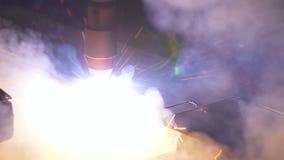Macchina di CNC del laser Lamiera sottile di formato all'officina Macchina altamente accurata programmabile Lavoro automatico per archivi video