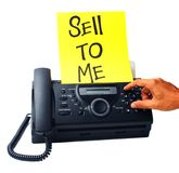 Macchina di fax Fotografia Stock Libera da Diritti
