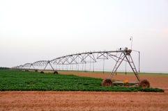 Macchina di irrigazione immagine stock