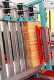 Macchina di legno dello spasmo immagine stock