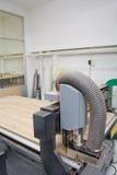 Macchina di legno di CNC del router della taglierina Fotografia Stock Libera da Diritti