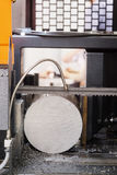 Macchina di metallurgia immagini stock