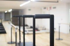 Macchina di Pilates nello studio della palestra Fotografie Stock