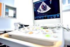 Macchina di ultrasuono Fotografia Stock