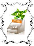 Macchina di valuta Fotografie Stock