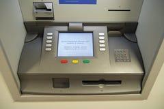 Macchina di valuta di scambio Fotografie Stock Libere da Diritti