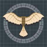 Macchina di volo di Da Vinci Fotografia Stock