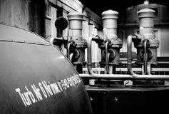 Macchina in fabbrica Fotografia Stock Libera da Diritti