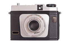 Macchina fotografica 6x6 cm della Germania orientale dell'annata Immagini Stock