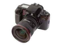 Macchina fotografica Analog di SLR Immagine Stock