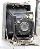 Macchina fotografica antica usata dai fotografi del secolo scorso Fotografia Stock Libera da Diritti