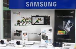 Macchina fotografica astuta di Samsung Fotografie Stock Libere da Diritti