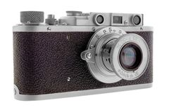 Macchina fotografica classica del telemetro Fotografia Stock