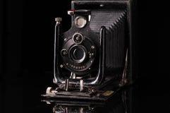 Macchina fotografica d'annata del compur fotografia stock