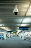Macchina fotografica del CCTV Fotografie Stock Libere da Diritti