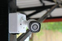 Macchina fotografica del CCTV di sicurezza per protezione domestica immagini stock libere da diritti