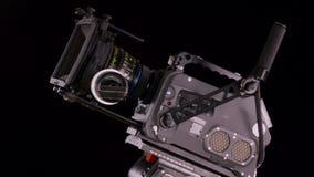 Macchina fotografica del cinema stock footage