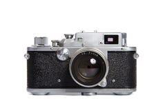 Macchina fotografica del classico 35mm SLR Fotografia Stock Libera da Diritti