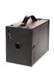 Macchina fotografica del contenitore di pellicola dell'annata Fotografia Stock Libera da Diritti