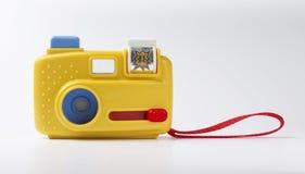 Macchina fotografica del giocattolo fotografia stock