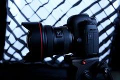 Macchina fotografica del segno IV di Canon 5D Fotografie Stock