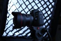 Macchina fotografica del segno IV di Canon 5D Fotografia Stock Libera da Diritti