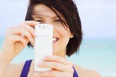 Macchina fotografica del telefono Fotografia Stock
