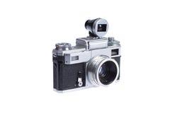 Macchina fotografica del telemetro con il viewfinder supplementare Immagine Stock Libera da Diritti