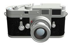 Macchina fotografica del telemetro, fronta Fotografia Stock