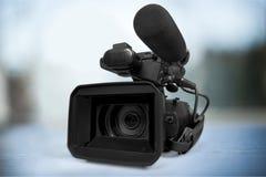 Macchina fotografica del video domestico Fotografie Stock Libere da Diritti