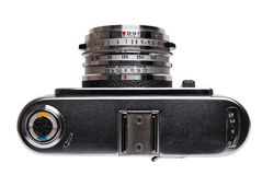 Macchina fotografica dell'annata 35mm Fotografia Stock