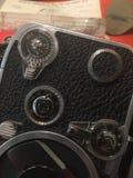 Macchina fotografica dell'annata di Bolex 8mm fotografia stock libera da diritti