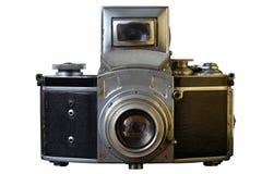 Macchina fotografica dell'annata 35mm SLR Fotografia Stock