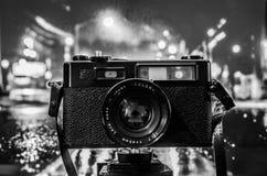 Macchina fotografica dell'annata 35mm SLR Immagine Stock Libera da Diritti