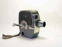 Macchina fotografica dell'annata - videocamera portatile 2 di 8mm Fotografia Stock