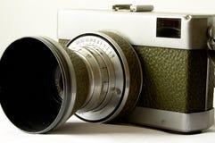 Macchina fotografica dell'oggetto d'antiquariato 35mm immagine stock