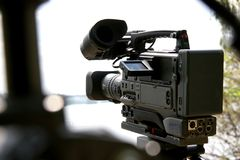 macchina fotografica della Dv-camma Immagini Stock Libere da Diritti
