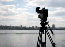 macchina fotografica della Dv-camma immagini stock