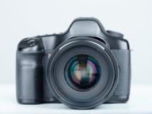Macchina fotografica della foto di DSLR Fotografie Stock Libere da Diritti