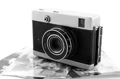 Macchina fotografica della pellicola dell'annata Fotografia Stock Libera da Diritti