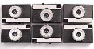 Macchina fotografica della pellicola di Lomography delle sei annate Fotografia Stock Libera da Diritti