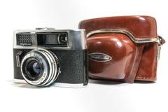 Macchina fotografica della rapida D Prontor 300 di Voigtlander Vitoret Immagini Stock