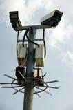 Macchina fotografica della via del CCTV Immagini Stock Libere da Diritti
