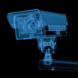 Macchina fotografica della videocamera di sicurezza o del cctv del raggio x Immagini Stock Libere da Diritti