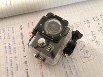 Macchina fotografica di azione fotografia stock libera da diritti