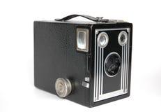 Macchina fotografica di casella immagini stock
