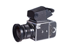 macchina fotografica di Centrale-formato Immagine Stock