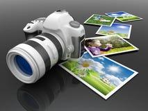 Macchina fotografica di Digitahi Fotografie Stock Libere da Diritti